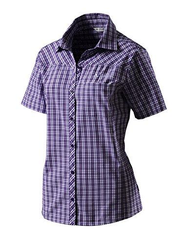 Vaude Damen Bluse Sira Shirt 2 Royal Violet Royal Violet