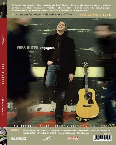 Yves Duteil - Sans attendre/(fr) agiles (Partitions piano voix guitare) par Yves Duteil