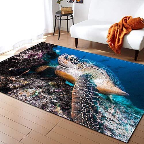 3D Ocean Carpet Living Room Home Decorative