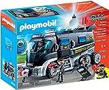 Playmobil- Vehículo con luz LED y módulo de Sonido Juguete, (geobra Brandstätter 9360)