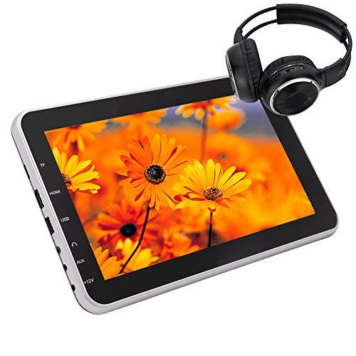 Auto poggiatesta Monitor con 10,1 pollici 1024 * 600 schermo digitale USB DVD dell'automobile di sostegno Giocatore / trasmettitore TF Port HDMI 1080P Video Entertainment FM IR con Wireless IR pe