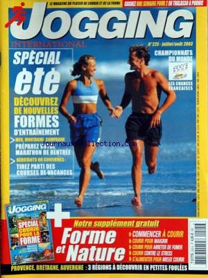 JOGGING INTERNATIONAL [No 225] du 01/07/2003