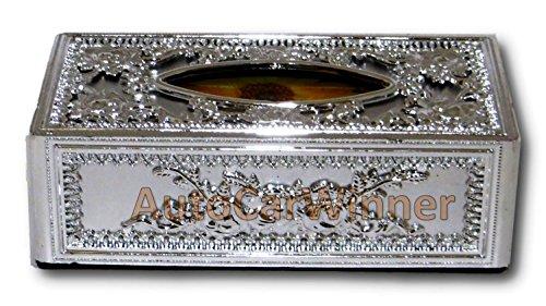 auto car winner silver tissue box/dispenser for car,home & office AUTO CAR WINNER Silver Tissue Box/Dispenser for Car,Home & Office 51wGvlZxsFL
