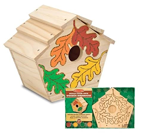 Build-Your-Own Wooden Birdhouse Build-Your-Own Wooden Birdhouse