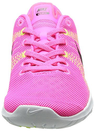 Flex Fury Running Shoe Pink Pow/Black/Liquid Lime/Vlt