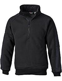 """Dickies Fleece-Pullover """"Eisenhower"""", Größe L, schwarz, 1 Stück, EH89000 BK L"""
