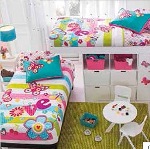 Fiori Floral Bunkbed Comforter Twin Size
