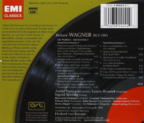 Wagner : Die Walküre - Acte 3