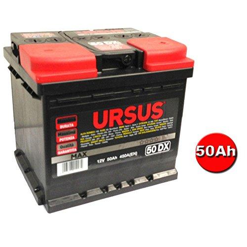Preisvergleich Produktbild URSUS Batterie für Auto Wohnmobil gebrauchsfertig maximale Qualität Leistung Haltbarkeit 50 Ah