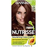 Garnier Nutrisse Permanent Haircolor, 434 Deep Chestnut Brown (Packaging May Vary)