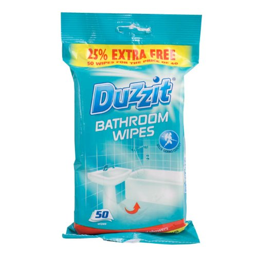 Duzzit Bathroom Wipes - Pack of 50