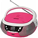 Daewoo 599371031 - radio cd portã¡til dbu-59 con usb - rosa