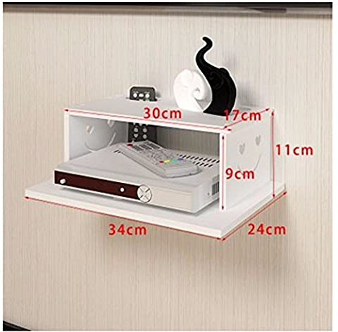 Living Room Router Storage Box Partition Shelf Decorative Wall Hangings