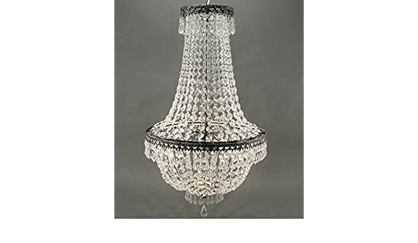 Kronleuchter Deckenlampe Lampe Kristall Strass Hängelampe Designer Lüster Led ~ Voss design 2x kronleuchter kristall 65cm deckenlampe korbleuchter