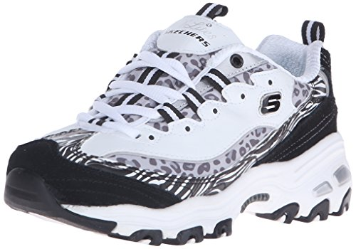 Skechers  D'LitesCentennial,  Sneaker donna Jungle White