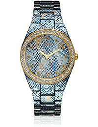 Guess Damen-Armbanduhr Analog Quarz Edelstahl W0583L1