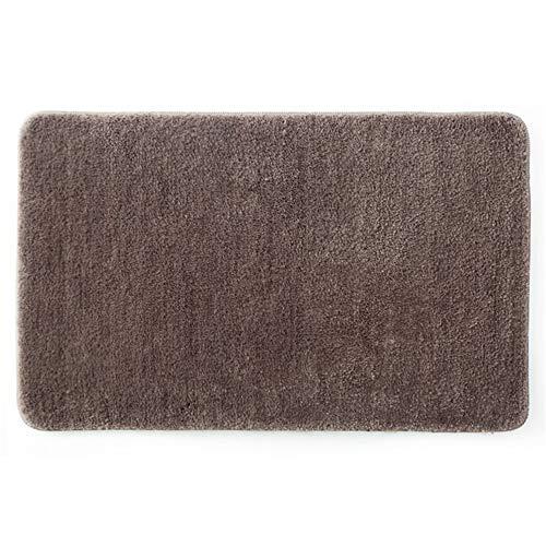 DYYSolid Fußmatten für Schlafzimmer, Badezimmer, saugfähig, 45 x 70 cm