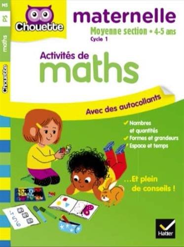 Activités de maths, moyenne section cycle 1