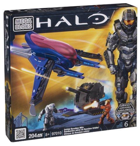 Mega Bloks 97010 - Halo Orbital Banshee