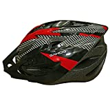 #3: AdraxX Outmould Cycling Helmet with Led light