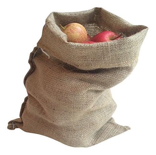 Nutley's Lot de 5 sacs à pommes de terre en toile de jute 30x45cm