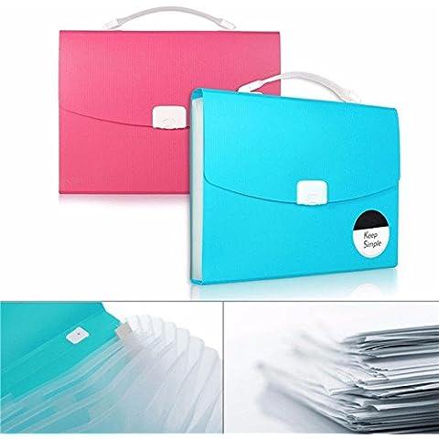 Pink Lizard L'espansione del file di dialogo libreria documenti in formato A4 carta cartella foolscap caso portafoglio