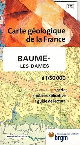 Carte géologique : Baume-les-Dames