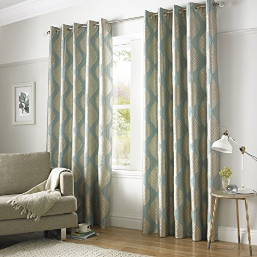 simone-luxury-plain-printed-fully-lined-curtains-duck-egg-beige-eyelet-curtains-66-x-72-inches-drop-