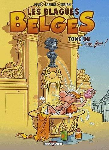 BLAGUES BELGES T01 ED. PROMO par Pluk, Philippe Larbier, Eric Dérian