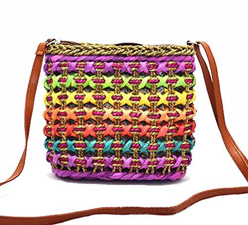 tonwhar-de-mujer-estilo-bohemio-playa-bolso-paja-bolsa-de-hombro-varios-colores-rosa