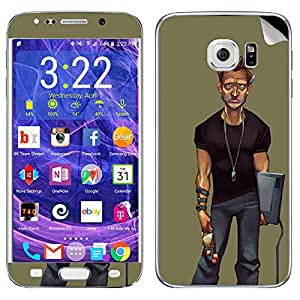 Theskinmantra Angry Man Samsung Galaxy S6 Edge Plus mobile skin