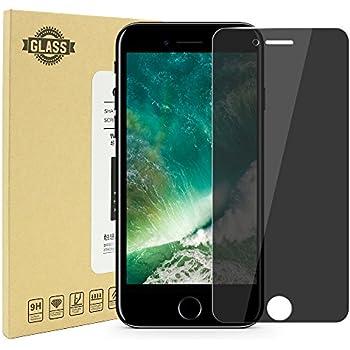 iPhone 7 / 8 Protection écran de Confidentialité, AILRINNI Film Protection en Verre Trempé [Anti Spy Privacy Glass] 9H dureté Résistant aux Rayures Screen Protector pour Apple iPhone 7 / 8 - Noir