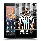 Head Case Designs Officiel Newcastle United FC NUFC Salomón Rondón 2018/19 Première Équipe Groupe 1 Coque en Gel Doux Compatible avec Amazon Fire HD 10 (2017)