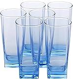 #10: Luminarc sterling ice Blue H/B tumbler Glass Set