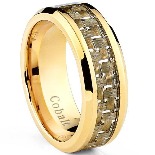 ultimate-metals-co-alliance-en-cobalt-chrome-incrust-fibre-de-carbone-jaune-bague-de-mariage-plaqu-o