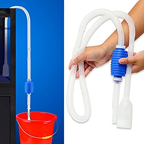 AOHANG Aquarium Cleaning Pump Kit Aquarium Fish Tank Cleaner Siphon Pump Gravel Water Filter Cleaner