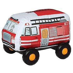 Manhattan Toy Bumpers Feuerwehrauto vehículo de Juguete para niños pequeños