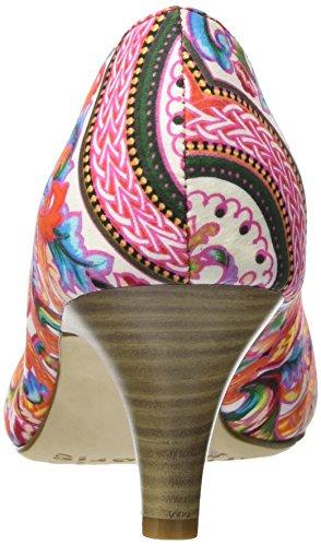 Tamaris Damen 22455 Pumps Mehrfarbig (Pink Comb 514)