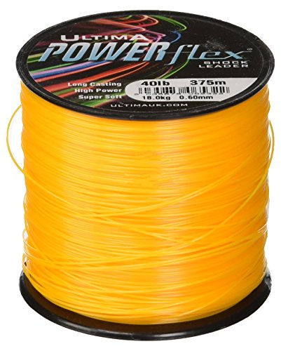Ultima Powerflex High Power Angeln Shockleader, Unisex, Powerflex, Fire Orange