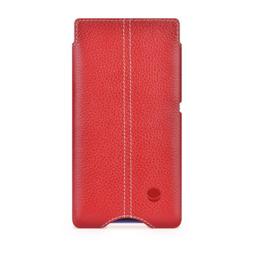 BeyzaCases Zero Custodia per Apple iPad Air/iPhone 4/4S, Red, Xperia E1