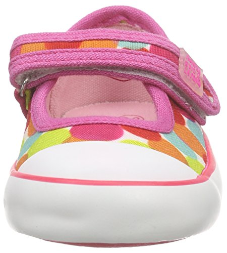 Agatha Ruiz De La Prada 162946, Mädchen Sneakers, Weiß (Blanco Estampado CONFETI), 26 EU
