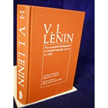 V. I. Lenin: An Annotated Bibliography of English Language Sources to 1980
