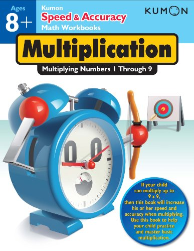 Multiplication: Multiplying Numbers 1-9 (Speed & Accuracy Math Workbooks) por Kumon Publishing