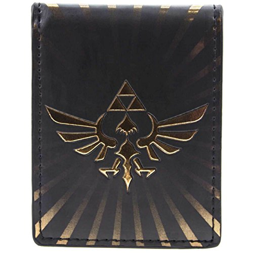 Cartera de Nintendo Zelda Triforce Multicolor