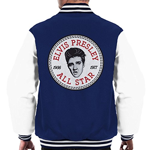 Elvis Presley All Star Converse Logo Men's Varsity Jacket (All-star-spiel-logo)