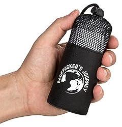 Backpacker's Journey Reiseschlafsack (nur 155g), ultraleichter und platzsparender Hüttenschlafsack aus Mikrofaser