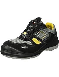 Giasco 31h34 C39 Dublin – Zapatos de seguridad bajo S1P negro/gris/amarillo,