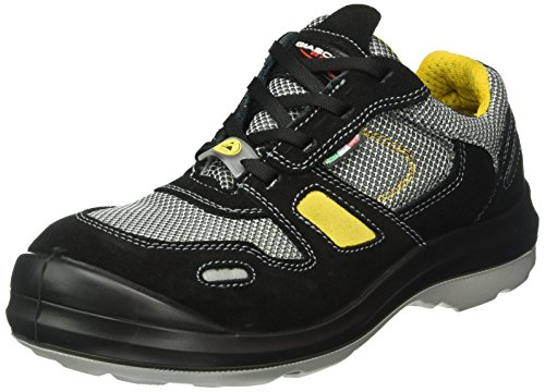 Giasco, Scarpe Antinfortunistiche Uomo Multicolore Black-Grey-Yellow 44