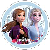 Essbarer Tortenaufleger Frozen 2 Oblate Motiv 3 NEU