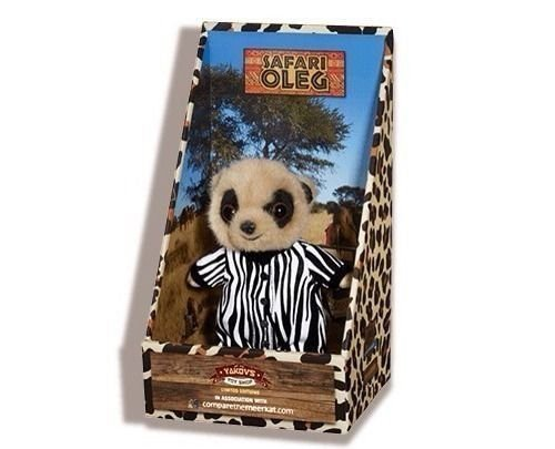 Safari Oleg Limited Edition Compare the Meerkat + Certificate by Compare  The Meerkat